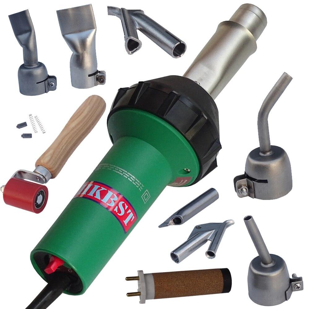 HKBST220V or 110V hot air welder plastic welding heat gun for PP PVC PE PPR water