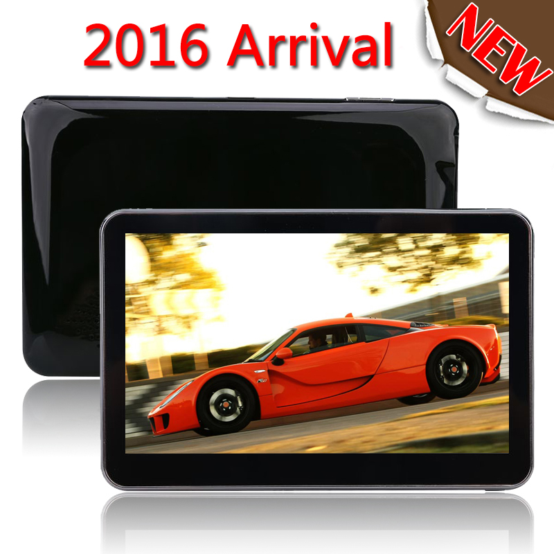 "TOM 5"" 8GB Car GPS Sat Nav Navigation System TOM FM Speedcam POI Free EU Maps"