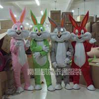 2017 verkauf Wie Heiße Professional Osterhase Maskottchen Kostüme Kaninchen und Bugs Bunny maskottchen für verkauf