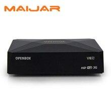 Original Openbox V6S Mini Digital Satellite Receiver same asS-V6 Skybox V6 output 2xUSB WEB TV 3G Biss Key CCCAMD NEWCAMD MGCAMD