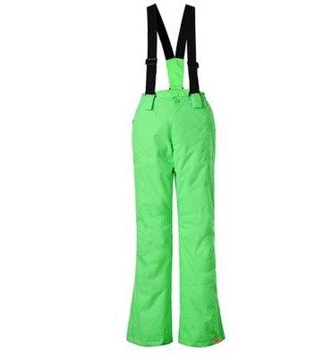 ФОТО high quality Boys girls ski pants children's skiing pants unisex childs snowboarding pants blue yellow red green black ski pants