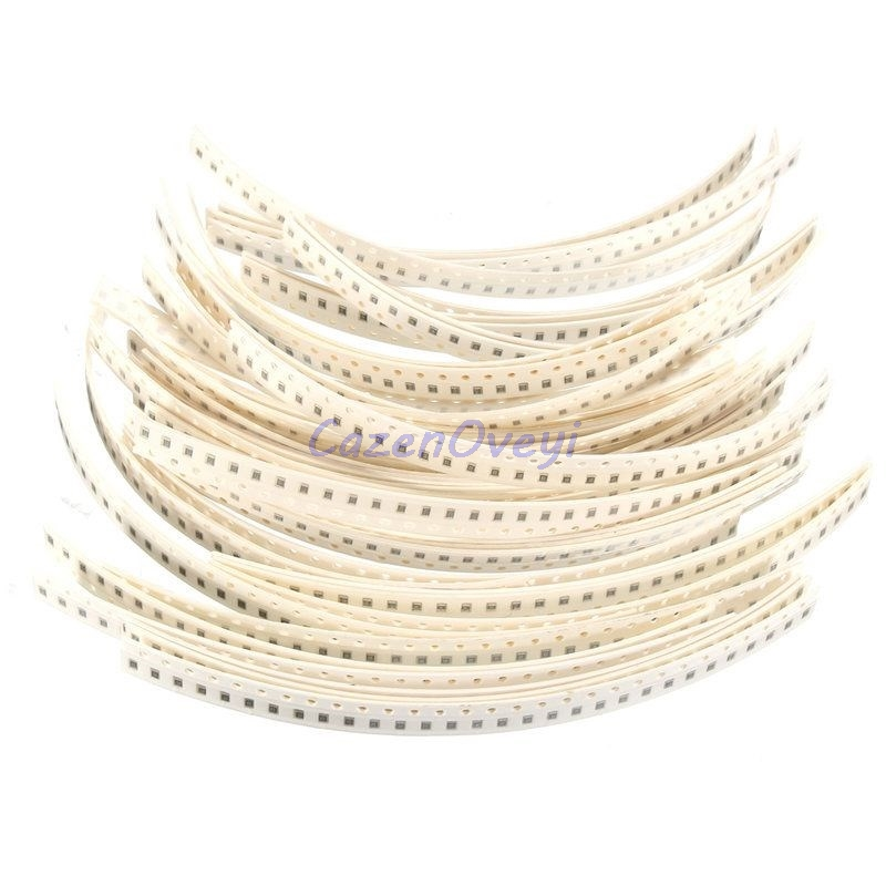 100pcs/lot 0402 50V SMD Thick <font><b>Film</b></font> Chip Multilayer Ceramic <font><b>Capacitor</b></font> 0.5pF-10uF 10NF <font><b>100NF</b></font> 1UF 2.2UF 4.7UF 10UF 1PF 6PF image
