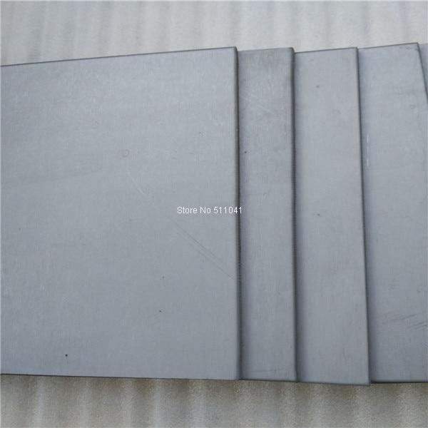 Plaque en alliage de titane grade5 gr.5 Gr5 feuille de titane taille 5mm * 300*300mm prix de gros, Paypal ok, livraison gratuite