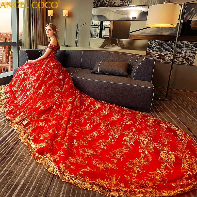 22c2d30d84f Court Red Long Tail Maternity Wedding Dress Maternity Gown Lace Maternity  Dress Sequin Pregnant Women Dress Pregnancy Clothes