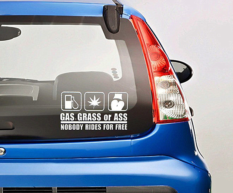 Reflective Car Sticker (1)