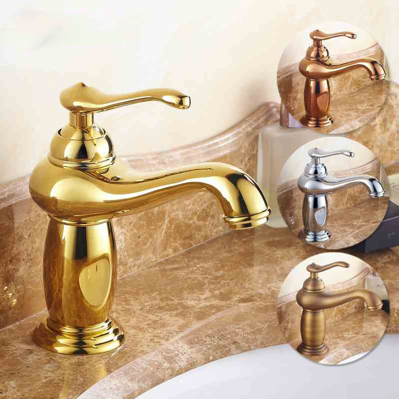 AUSWIND European Leading green jade marble basin of hot and cold water wash basin faucet copper gold bathroom accessories pastoralism and agriculture pennar basin india