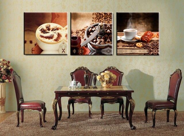 Stampe Cucina Moderna : Pannelli cucina moderna caffè tè stampe su tela opere di