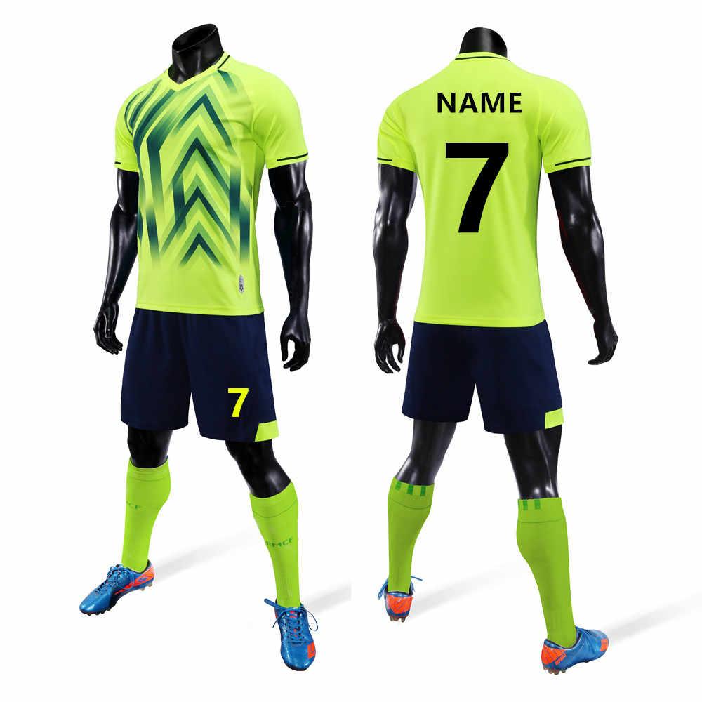 bab6c1ab7ec 2019 nuevo conjunto De camiseta De fútbol con personalidad para adultos,  Kit De fútbol para