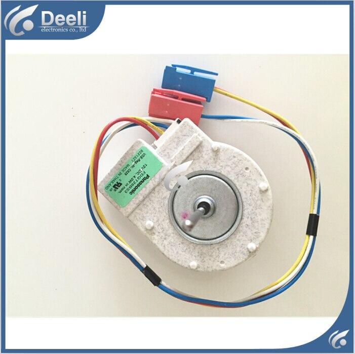 2pcs/lot 95new Good working for Fan motor for refrigerator freezer  FDQT26BS3 12V DC motor 100% new for good working high quality for refrigerator motor freezer motor kbl 48zwt05 1204
