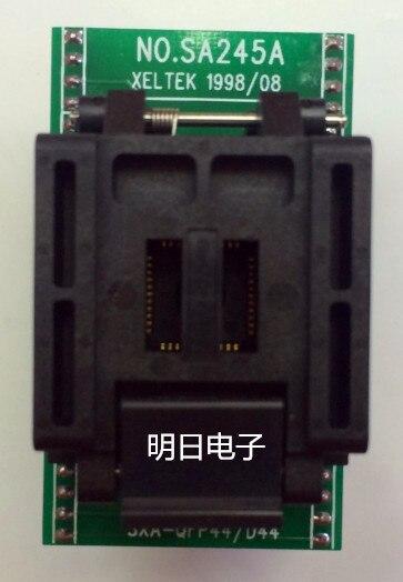 Free Shipping     SA245 TQFP44 Programmer Burn Adapter Seat