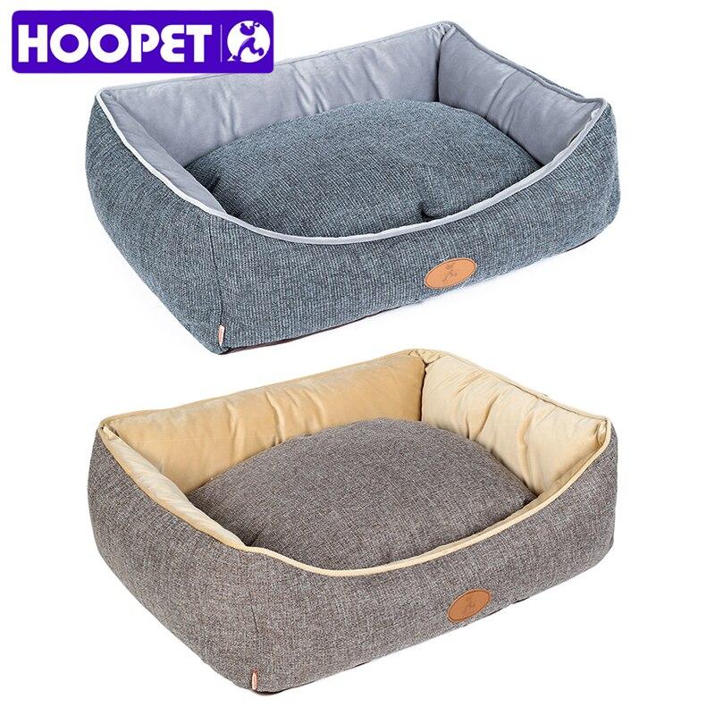 HOOPET Pet Малый средних Товары для собак Товары для кошек Собака кровать Four Seasons кошка гнездо