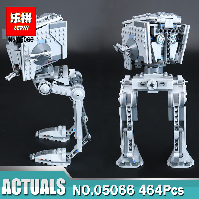 цена на 464Pcs Lepin 05066 Wars on Star Series The Rogue One AT set ST Walker Educational Bricks Toys Compatible Legoingly 75153