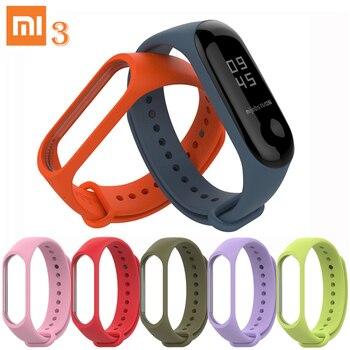 Mi Band 3 Sports Wristband Silicone Wrist Strap Multicolor Set for Xiaomi Mi Band 3 Bracelet Fashion Lightweight Mi Band 3 Strap
