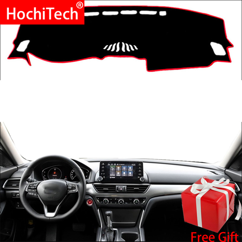 For <font><b>Honda</b></font> <font><b>accord</b></font> <font><b>2018</b></font> Right and Left Hand Drive Car Dashboard Covers Mat Shade Cushion Pad Carpets <font><b>Accessories</b></font> image