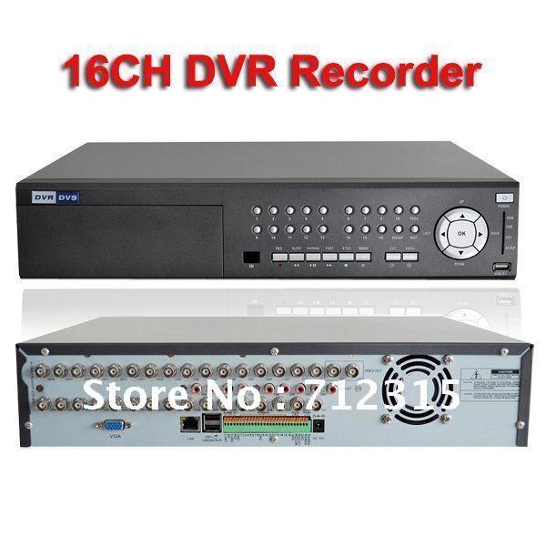 H.264 16ch standalone DVR recorder DVD_R/W CCTV digital ...