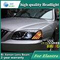 Car Styling Head Lamp case for Hyundai Elantra 2004-2010 Headlights LED Headlight DRL Lens Double Beam Bi-Xenon HID Accessories