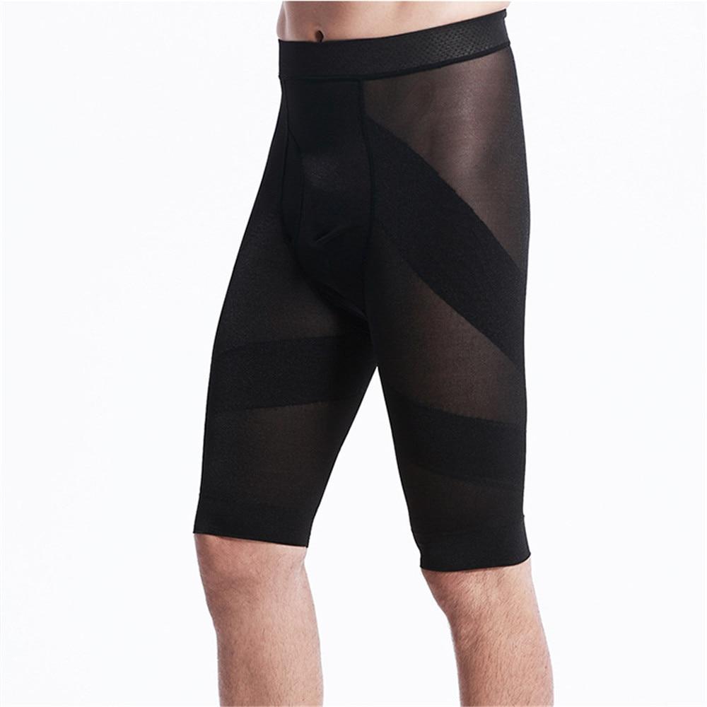 2017 Sexy Control Panties Shapers for Men Body Shaper Men's Fitness Pants Slimming Underwear Shorts Body Sculpting Beam Waist