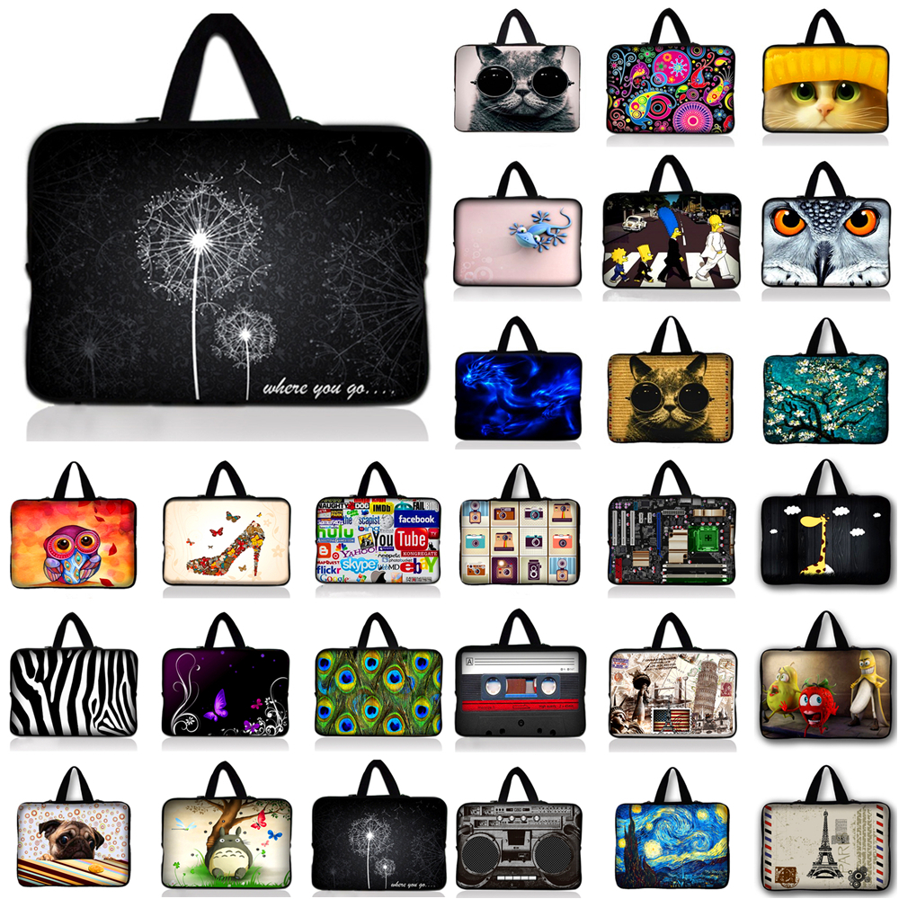 10.1 12 13.3 15.4 15.6 17.3 14 15 17 Laptop Sleeve Bag Notebook Case For Samsung ASUS Acer HP Lenovo Sony Computer Bag #R