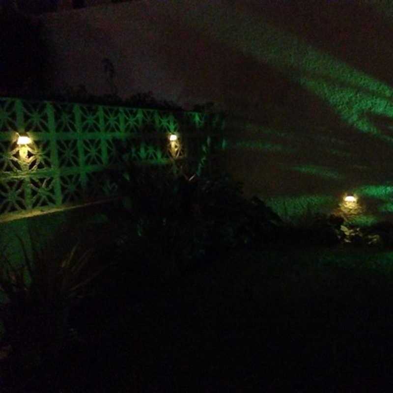 Солнечная энергия светодиодный s Открытый водонепроницаемый сад тропинка лестницы светильник энергосберегающий светодиодный настенный светильник на солнечных батареях теплый белый холодный белый
