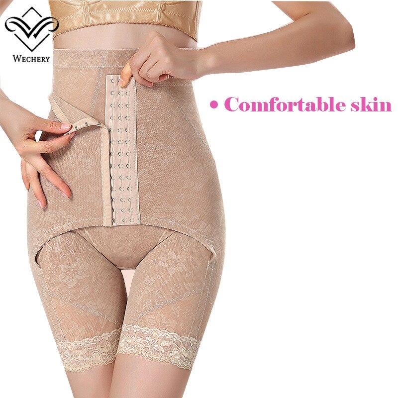 Wechery Bodysuit Body Shaper Waist Trainer Shapewear Magnetic Corset Shapewear Slimming Underwear Waist  Corsets Women Girdles