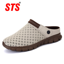 2019 New Summer Women Men Sandals Mesh Breathable Padded Beach Flip Flops Shoes Solid Flat Bath Slippers Lighted Casual Shoes цена
