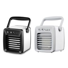 цены на USB Fan Cooler Cooling Fan Mini Portable Air Conditioner Powerful Soft Wind Cool Indoor Outdoor Summer Cooler Device Room  в интернет-магазинах