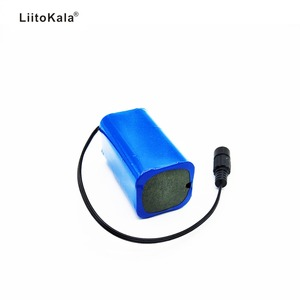 Image 4 - LiitoKala 7.4V 8.4V 4400mAh Pin 18650 Pin 4.4Ah Pin Sạc Cho Đèn Pha Xe Đạp/CAMERA QUAN SÁT/ máy ảnh/Điện