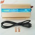 Gratis Verzending 1300W Grid Tie MPPT Solar Inverter 10.8-30VDC of 20-45V DC naar AC 110V of 220V Zuivere Sinus Omvormer