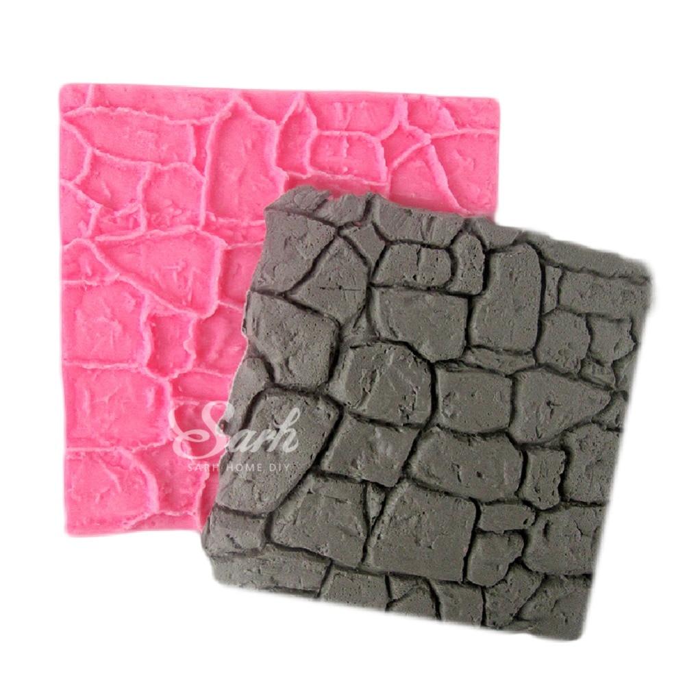 Compra molde de silicona para la piedra online al por mayor de China ...