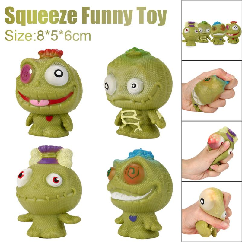 Kid Fun Toy Gift Anti-stress Boys Girl Adult Jumbo Kawaii Gag Decor Decompression Popping Out Decor Squeeze Toys
