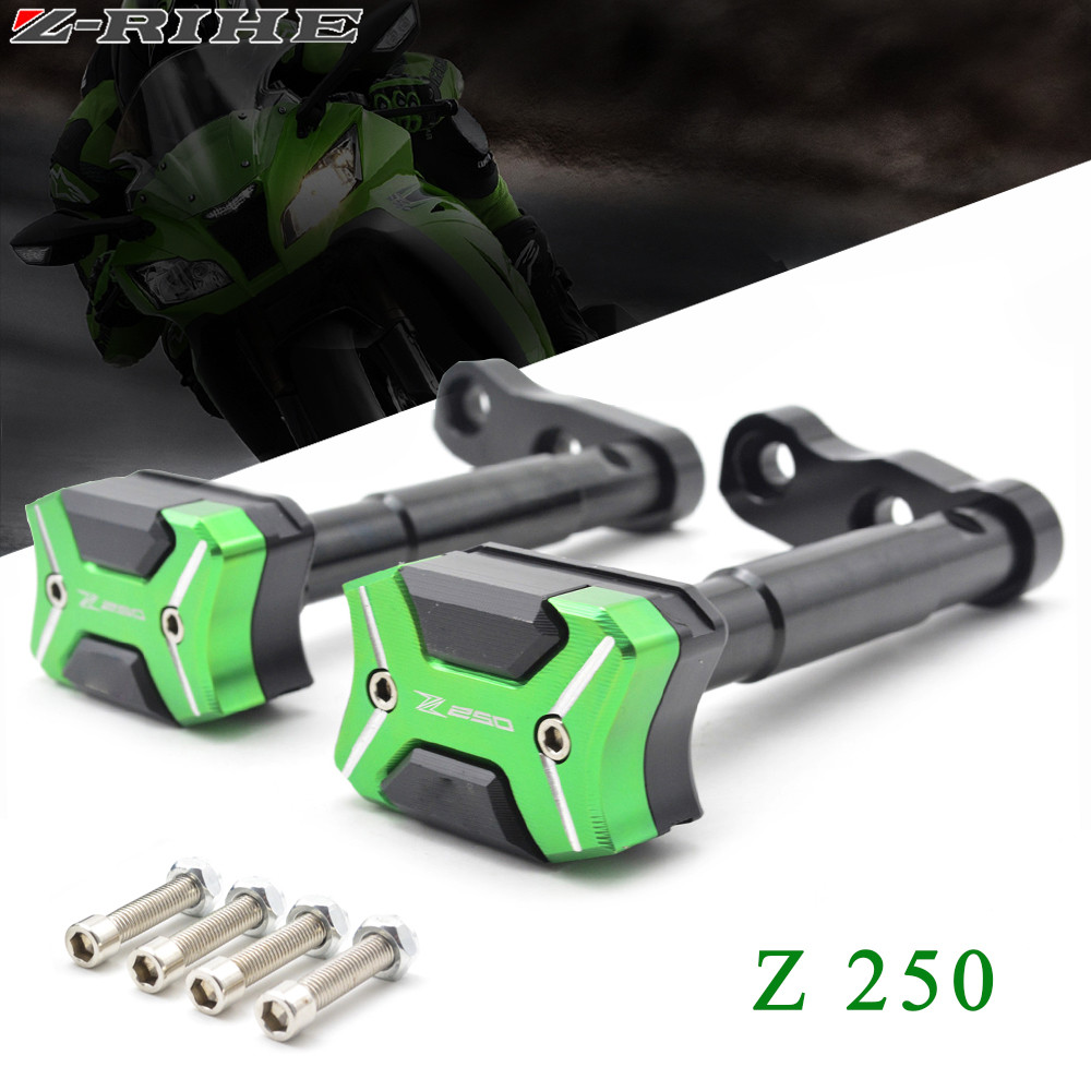 High quality CNC Aluminum Motorcycle parts for KAWASAKI Z250 Z250SL Z250 SL Z 250 2016 frame sliders crash engine tank protector нижняя гребная тяга с независимыми рычагами hasttings digger hd004 2