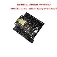Free Shipping Smart Electronic ESP8266 Kit NodeMcu Lua Wifi Intternet Of Things Development Board DIY Breadboard
