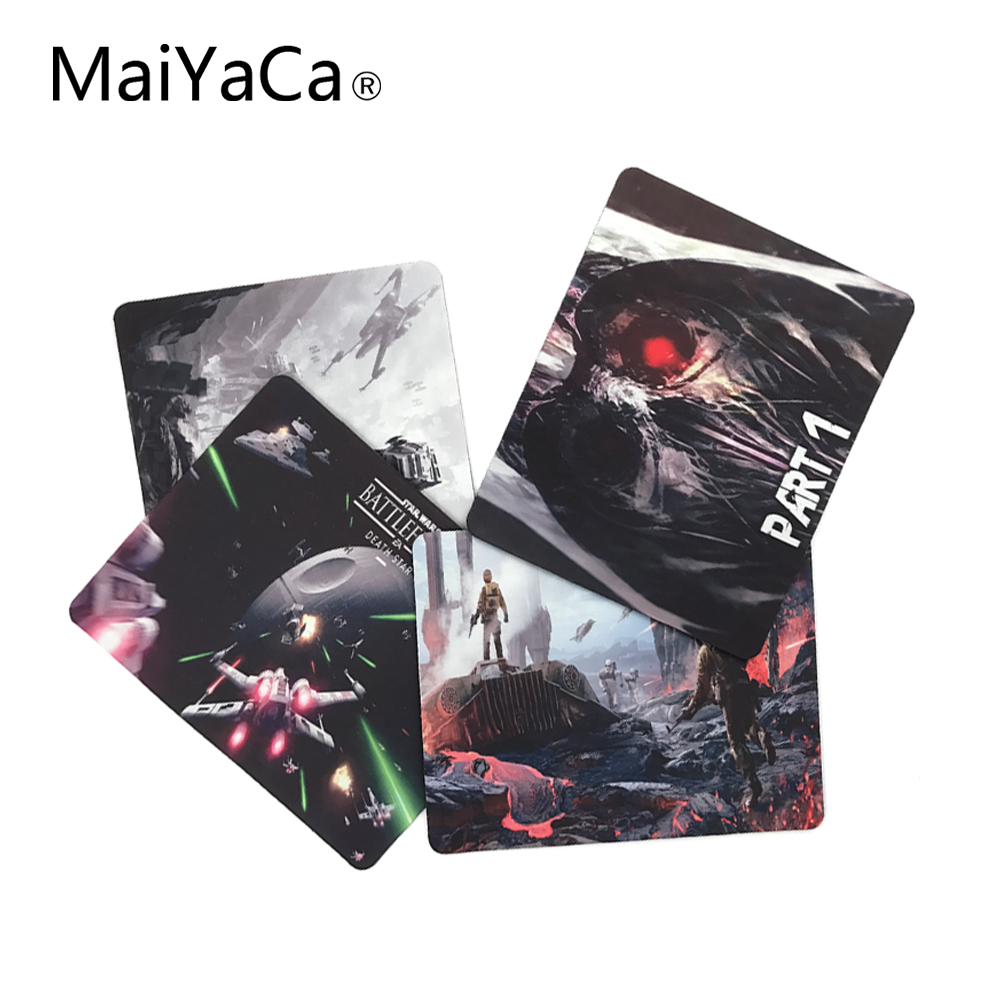 MaiYaCa Star Wars Battlefront Fashion Үздік Тінтуір Палубасы 18 * 22cm және 25 * 29см Ең жақсы сыйлық күйеуінің күйеуіне жіберіледі.