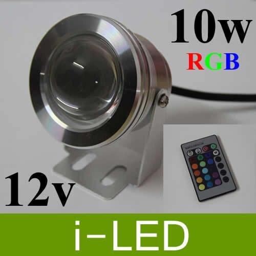 4 Stks/partij 10 W 1000lm Ac/dc12v Rgb Led Onderwater Fontein Licht Flash Waterdichte Ip68 Led Landschap Licht Lamp 3 Jaar Garantie