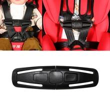 מכונית באיכות גבוהה תינוק בטיחות מושב רצועת חגורת לרתום חזה ילד קליפ בטוח אבזם 1pc