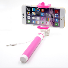 Universal Bluetooth Selfi Extendable Wired Selfie Sticks Monopod Selfie Stick For Smart Phone