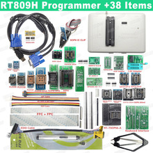 100% Original RT809H Programmierer EMMC Nand Extrem Schnelle Universal Programmierer + 38 Artikel + Edid Kabel + Saugen Stift