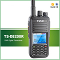 Best Price Cheap 5W UHF 400-480MHZ ETSI TS 102 361-1 -2 -3 AMBE+2TM Digital Two Way Radio with Cable Software