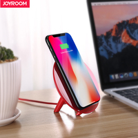 Joyroom Qi Wireless Charger For IPhone X 8 Plus Fast 10W USB Wireless Charging Pad For