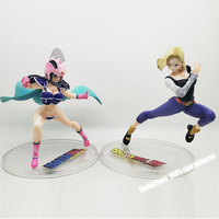 New Arrival Dragon Ball Gals Chichi Armor Ver Dragon Ball Z Android #18 Ver IV Pvc action Figure toy Anime figure Toys For kids
