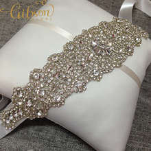 Free Shipping Bling Bling Crystal And Rhinestone Bridal Waist Belt Beaded Wedding Accessories