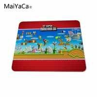 MaiYaCa Новый Супер Марио bros wii Коврик для компьютерной мыши amer Коврик Для Мыши игровые коврики