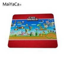 MaiYaCa new super mario bros wii Mouse Pad Computer aming Mouse Pad amer Play Mats