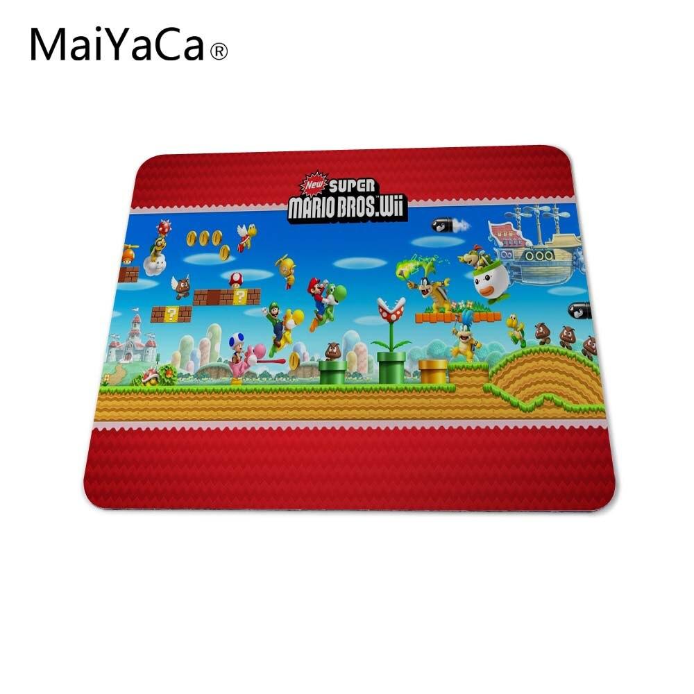 MaiYaCa new super mario bros wii Mouse Pad Computer aming Mouse Pad amer font b Play