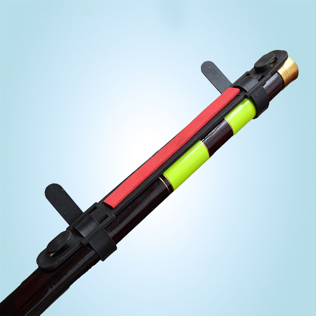 1pcs Durable Fishing Rod Portable Bobbin Winder Line Holder Keep Clip On Rod Fishing Accessory Random Color