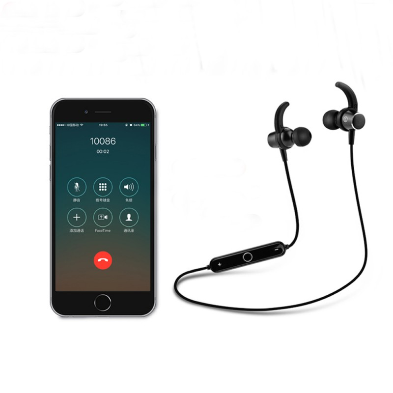 Bluetooth Earphone With Mic For Samsung Galaxy S9 Plus S8 S7 Edge S6 S5 Wireless Earphones Accessories Earbud Headset Earpieces s6 3 5mm in ear earphones headset with mic volume control remote control for samsung galaxy s5 s4 s7 s6 note 5 4 3 xiaomi 2