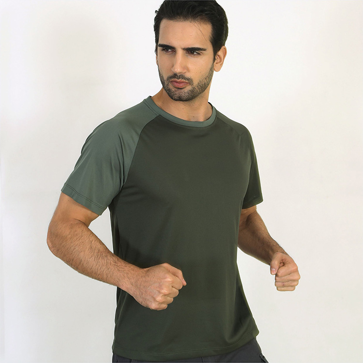JOZSI Men Summer Quick Dry Breathable T-Shirt Top Quality Cotton Men Tshirt Bodybuilding Clothing Fitness Clothes