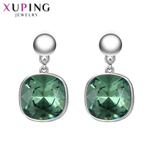 Xuping Fashion Earring Wholesale High Quality Crystals from Swarovski Color Plated Charm Design for Women Gift M23-93313