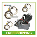 CONSTRUCTION JIANSHE 400cc ATV atv400-1-2-3-7  stator magneto coil 12V 18 coils accessories free shipping