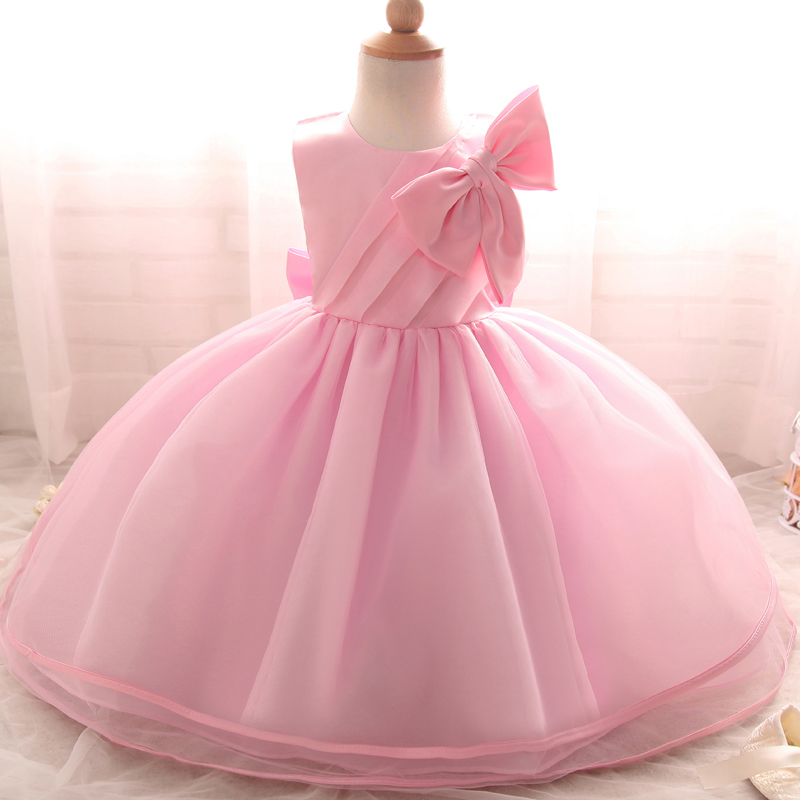 7cbedac435fd Baby Girl 1st Year Birthday Christmas Gift Infant Princess Dress ...